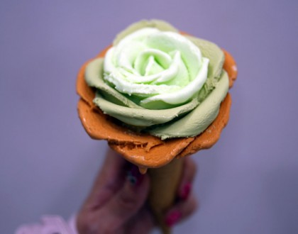 i-Creamy Artisan Gelato – Flower Gelato Done Petal By Petal. So Pretty!