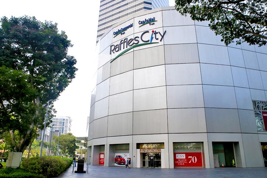 Raffles City Food Review