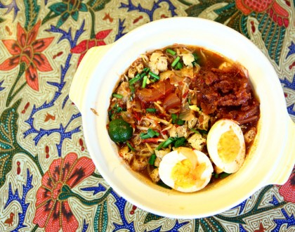 Tok Panjang – Peranakan Café at Katong with Hearty Nonya Breakfast. Assam Laksa Is Quite Authentic-Tasting