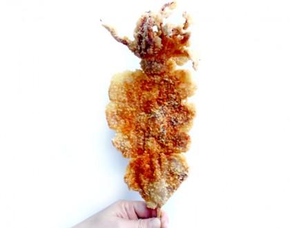 1460 Tteokbokki – Rainbow Bingsu, Korean Fried Squid and Potato Tornado