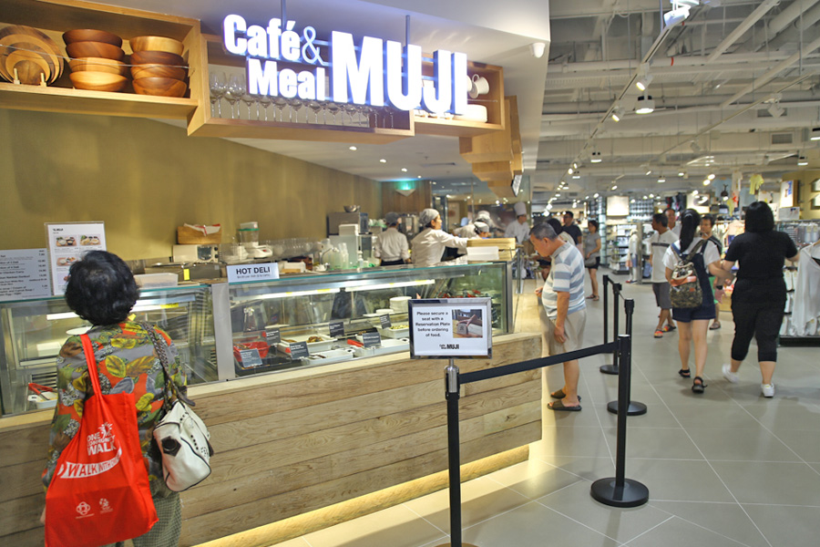 Muji Cafe Raffles City Review