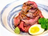 Sandaime Bunji - Awesome Wagyu Round Roast Beef Bowl