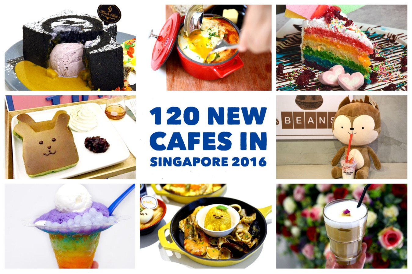 120 NEW Cafes in Singapore 2016 - The Ultimate Singapore Cafe Hopping Guide