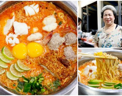 Jeh O Chula – Bangkok's Favourite Supper Place With Famous Tom Yum Mama, With Michelin Bib Gourmand