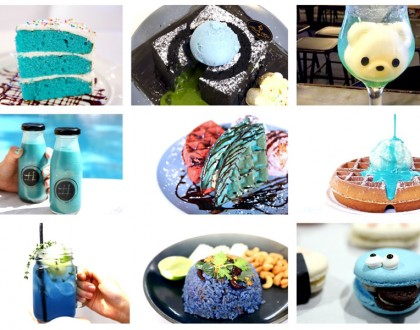 11 Very BLUE Food & Drinks In Singapore. And Not Just Unicorn Tears