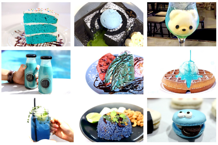11 Best BLUE Food & Drinks In Singapore. And Not Just Unicorn Tears
