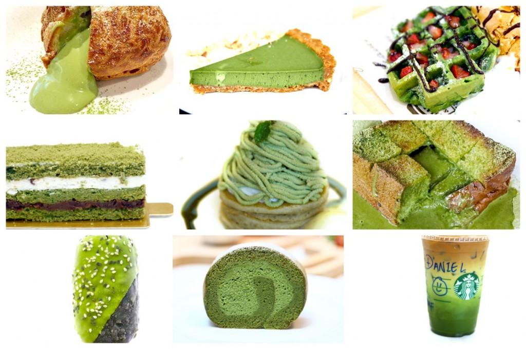 Matcha Green Tea Cake Singapore