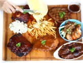 Meat N Chill – Best Meat Platter, Raclette Cheese Bourbon Fries on Fire and Loads of MEAT