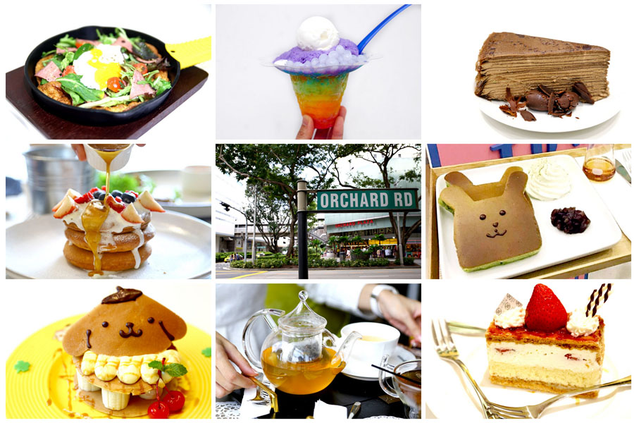 26 Cafes At Orchard Road - For Shoppers, Dessert Lovers and The Tai-Tais