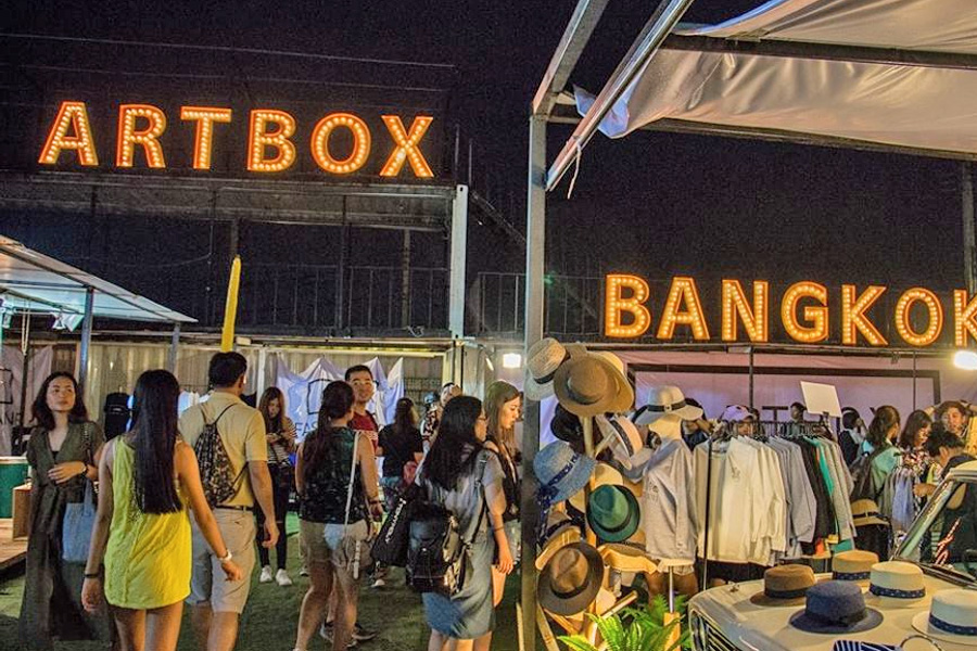 Artbox Thailand – Bangkok's Hipster Container Market Goes To Chatuchak, Till April 2017