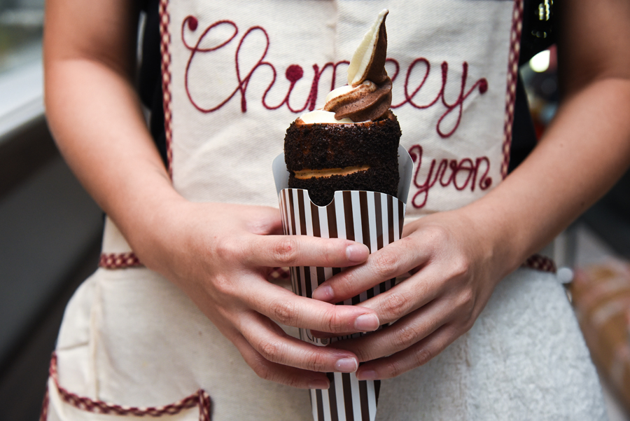 Chimney Singapore – First Chimney Cake With Softserve Shop Opens In Singapore At Scape Orchard