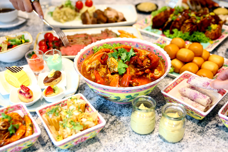 Ellenborough Market Café – Peranakan and International Food Buffet, At $80 For 2 Pax