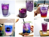 "6 Best ""Galaxy Drinks"" In Singapore - Change From Beautiful Blue To Pretty Purple"