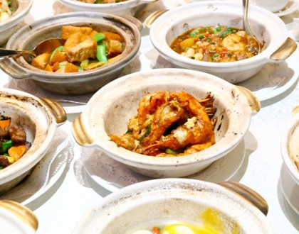Hai Tien Lo at Pan Pacific Singapore – Sizzling Claypot Goodness, ANY 2 Dishes For $33.30!