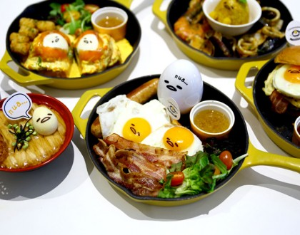 Gudetama Café Singapore - The Food Actually Can Make It, At Suntec City