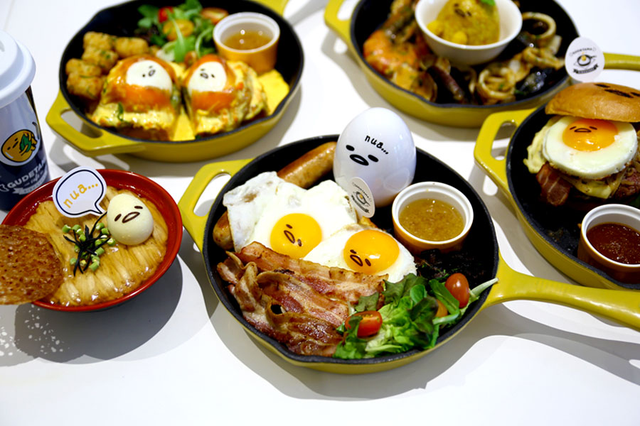 Gudetama Café Singapore - The Food Actually Can Make It. Opening At Suntec City 30th Nov
