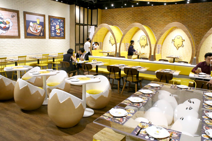 Gudetama Caf 233 Singapore The Food Actually Can Make It