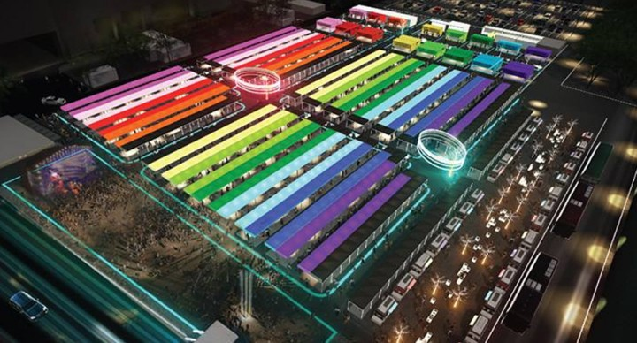 Talad Neon – NEW Downtown Night Market At Bangkok With NEON Lights, From 1st Dec
