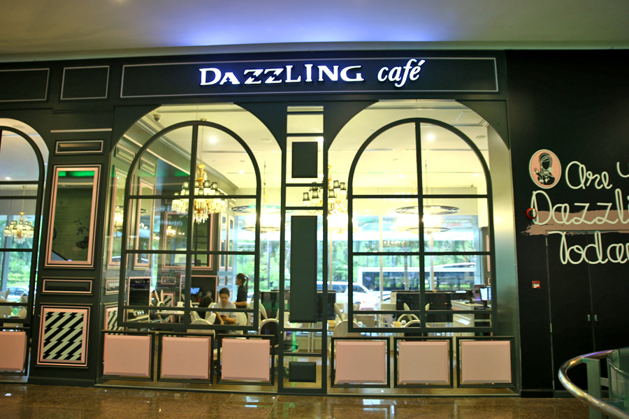 Dazzling Cafe Pink Singapore Menu