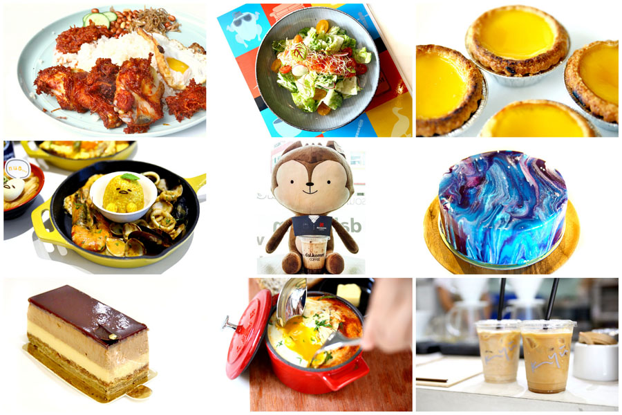 12 New Cafes In Singapore December 2016 - DOTS, FRIENDS, Gudetama, Japan Rail Café. Very Exciting