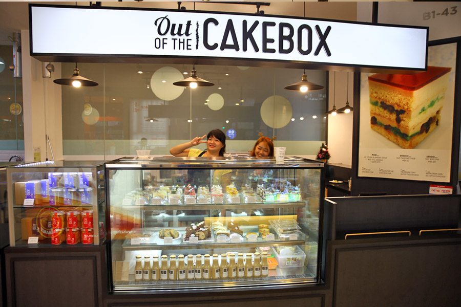 Cake Out Of The Box Tampines