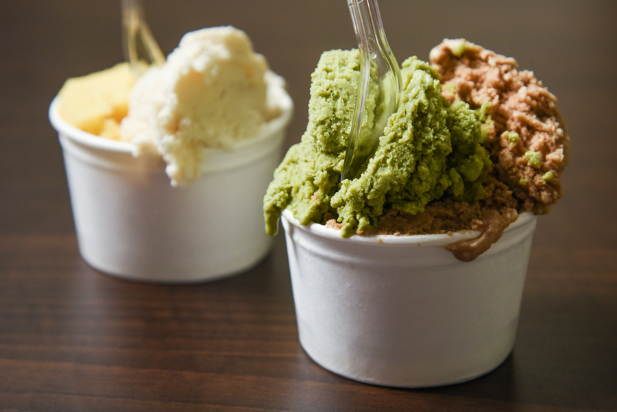 Canvas Gelato – Quaint Ice Cream Cafe At Central Square