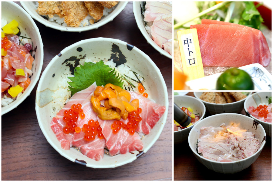 Kuro Maguro - Maguro Donburi at Great Prices, Fresh Tuna Sashimi Bowls At Tanjong Pagar Centre