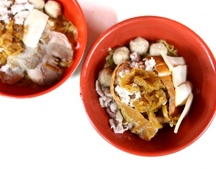 Ah Hoe Mee Pok – Japanese Style Bak Chor Mee With Miso, NEW Stall At Cantonment Road