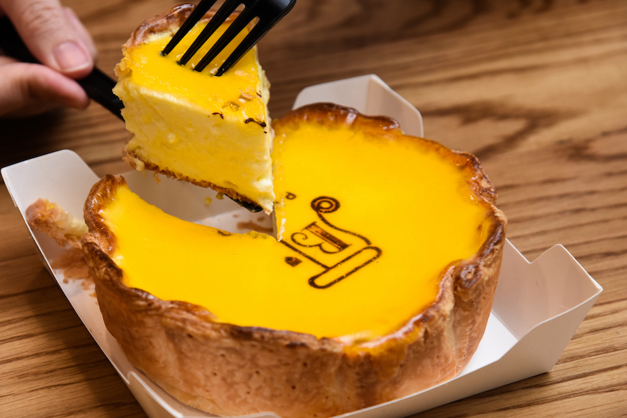 PABLO Cheese Tart – Famous Osaka Cheese Tart Oozes At Bangkok's Siam Paragon