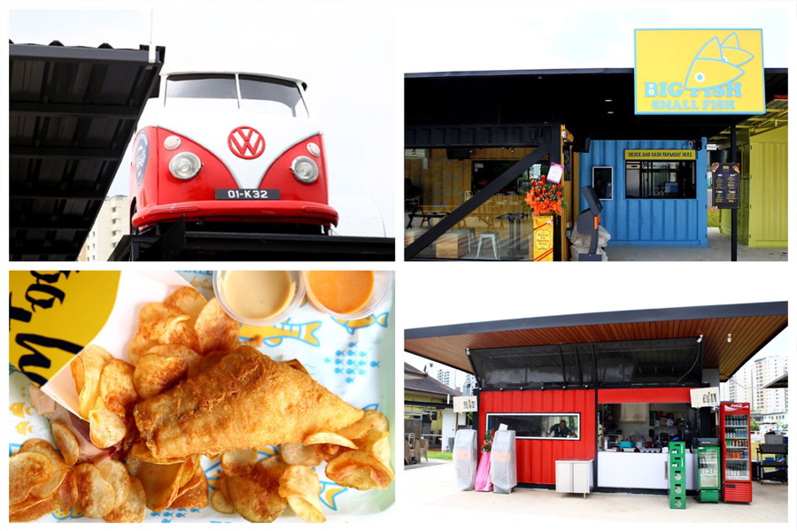 Punggol East Container Park – 7 NEW Container Eateries At Tebing Lane. So Hapz