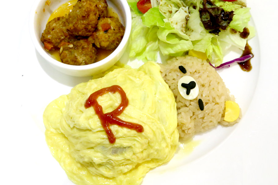 Rilakkuma Café Taipei - Cuteness Overload, Food Actually Not That Bad