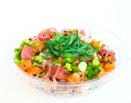 Sweetfish Poke – Hawaiian, Sweet Yuzu Cream, And Kimchi Poke Made Fresh-To-Order