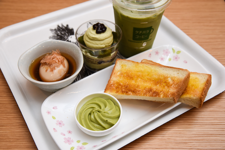 Tachihara Coffee –  Pullman Bakery Opens Japanese Cafe With Lots Of Matcha Stuff