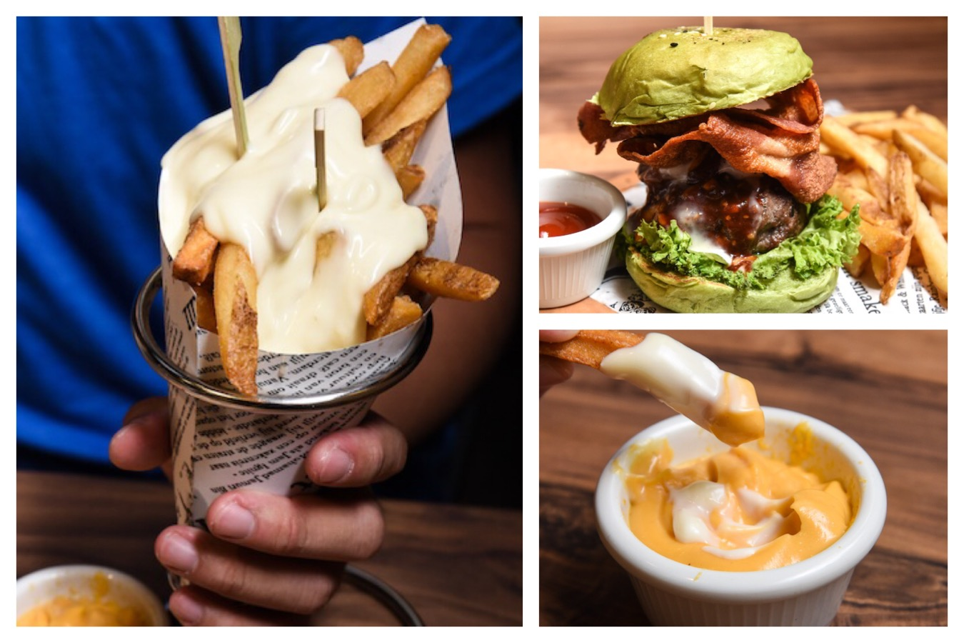 I AM... - Popular Halal Cafe Opens At Our Tampines Hub. Oh, Matcha Burger
