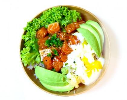 Salmon Samurai - $9.90 Salmon Donburi Bowls At 100AM Tanjong Pagar For Your Lunch Fix