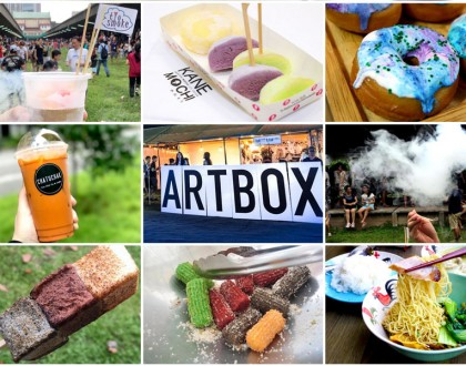 Artbox Singapore - The FOOD You Can Expect. However, It Was Just Too Crowded