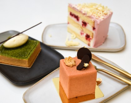 Nesuto - Japanese Style Cake Café With Yuzu Raspberry Cake And Matcha Azuki Tart, At Tanjong Pagar