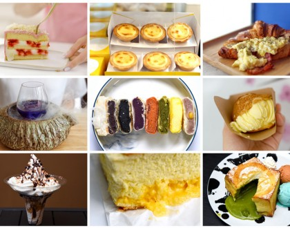 10 NEW Cafes In Singapore May 2017 - Famous Thai Milk Tea Pies, Castella Cakes And Hokkaido Ice Cream Puffs In Singapore