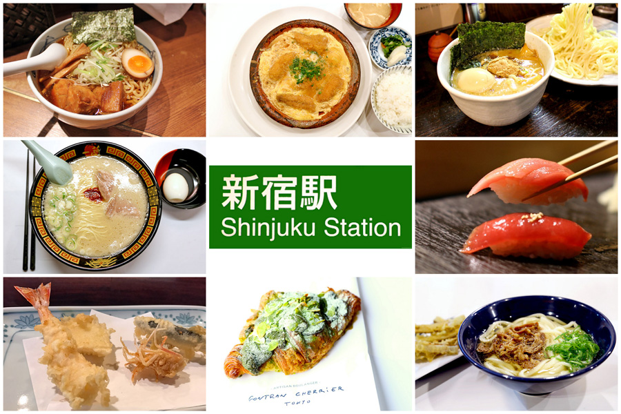12 Best Eats At Shinjuku Tokyo 新宿 - Affordable Michelin Meals, Handmade Soba To ¥350 Gyudon (