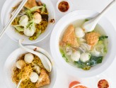 Song Kee - Famous Fishball Noodles Shop Reopens At Joo Chiat. BEST Herh Keow