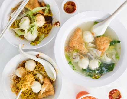 Song Kee - Famous Fishball Noodles Shop Reopens At Joo Chiat. Go For The Herh Keow