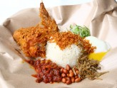 Village Nasi Lemak - Humble Hawker Food Gets 'Upgraded' With Truffle Egg