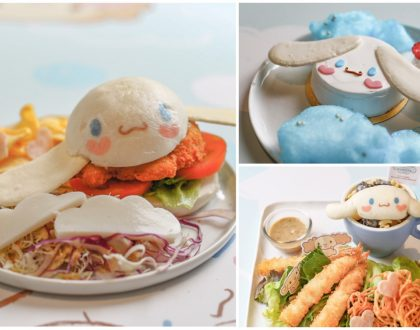 Cinnamoroll Café - Kawaii Puppy Burgers, Waffles And Fantasy Parfaits. Halal Certified. Ending 13th Aug