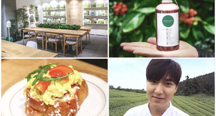 Innisfree Café - Korean Beauty Café With Lee Min Ho VR Experience, At Myeongdong Seoul