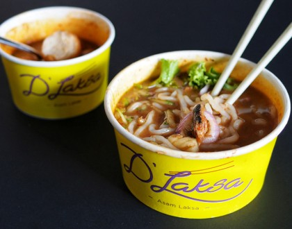 D'Laksa – Famous Penang Assam Laksa from JB Opens In Singapore. At Hougang Mall