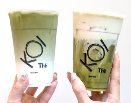 KOI Thé Singapore – Popular Matcha Latte and Matcha Macchiato Launched In Singapore