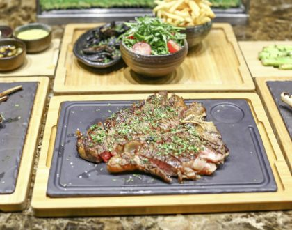 Opus Grill – NEW Porterhouse Steak At $128++ For 2, FREE Flow Wine From Sun - Thurs