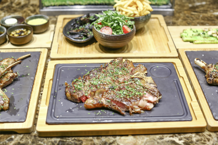 Opus Grill – Porterhouse Steak At $128++ For 2, FREE Flow Wine From Sun - Thurs
