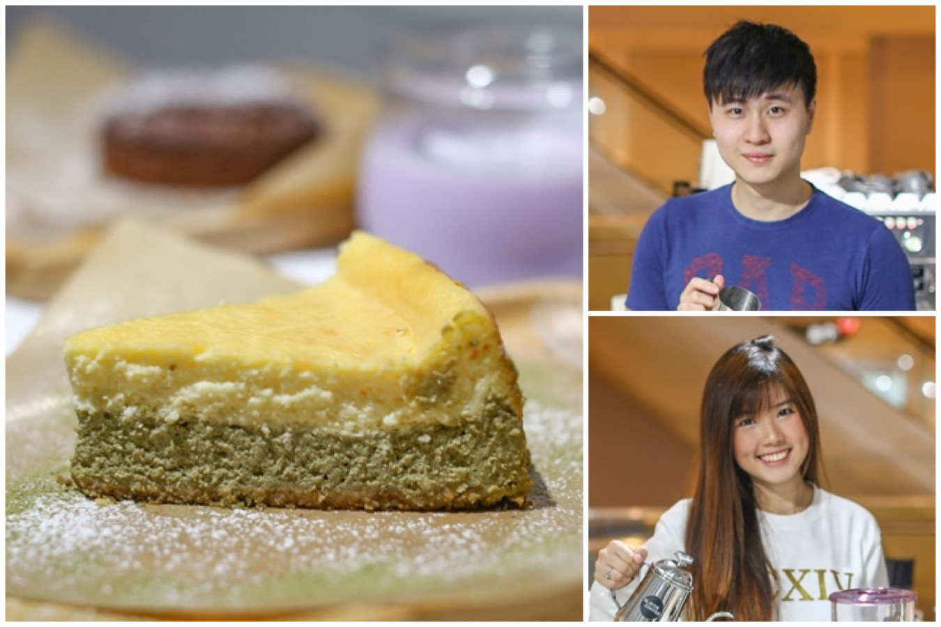 Slayer Coffee Cafe - Matcha Infusion Cheesecake and Sweet Potato Latte, Opened By Campus Superstar's Renfred Ng