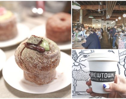 Brewtown Newtown - Cafe In A Warehouse In Sydney, Known For Sparkling Coffee, Cruffin and Brewnut